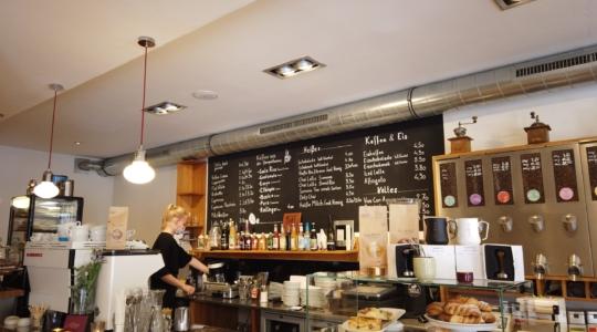 Café von innen