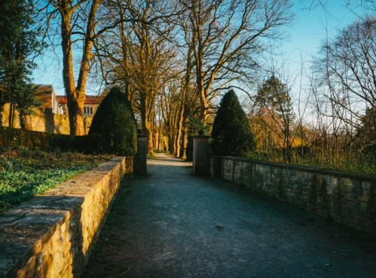 Ausgang des Osnabrücker Bürgerpark