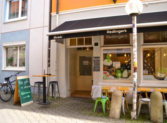 Café von außen